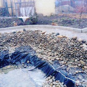 Строительство декоративных прудов